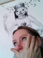 Prachtige beelden van Jolanda Moolenaar gewoon op je in laten werken