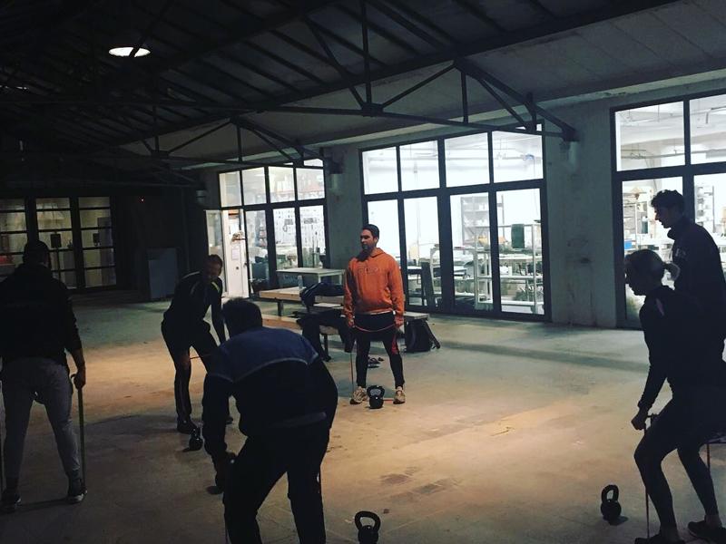 Samen sporten in De Gruyter Fabriek